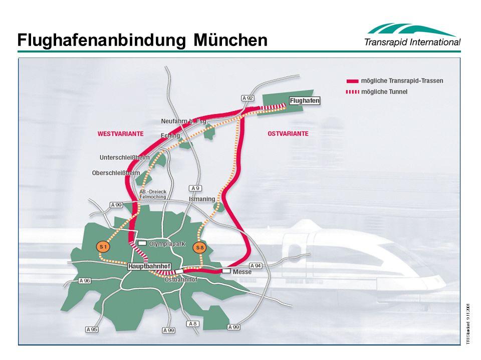 Flughafenanbindung München