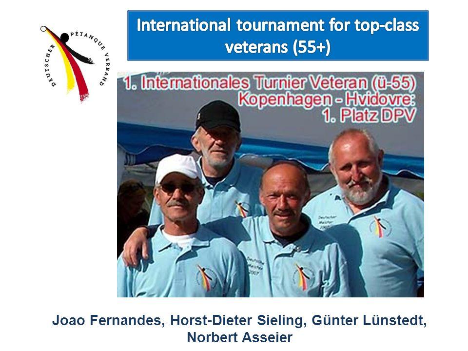 Joao Fernandes, Horst-Dieter Sieling, Günter Lünstedt, Norbert Asseier