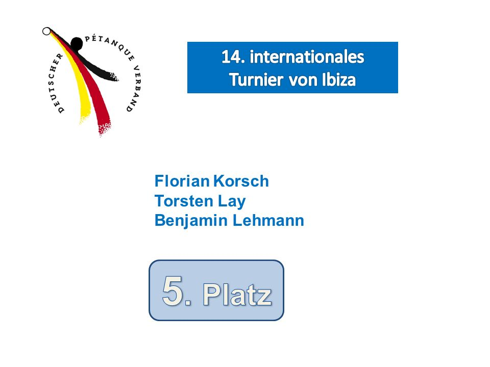 14. internationales Turnier von Ibiza