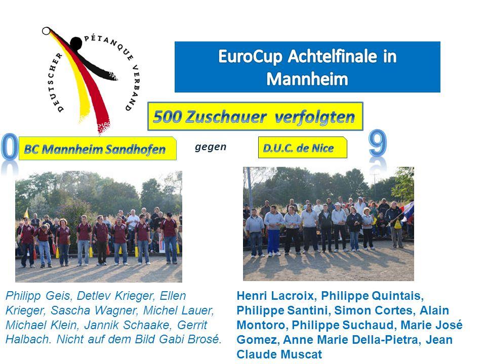 EuroCup Achtelfinale in Mannheim