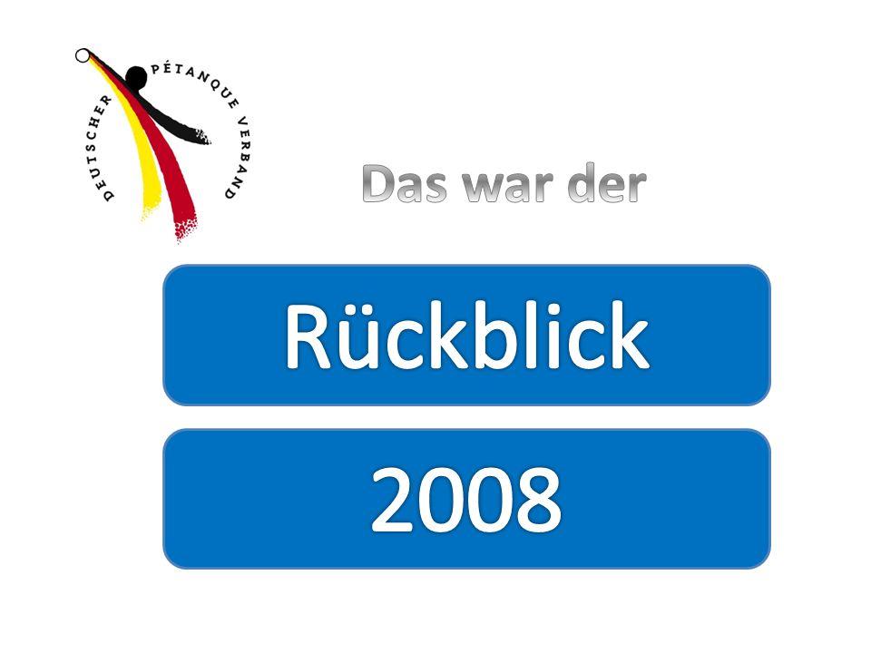Das war der Rückblick 2008