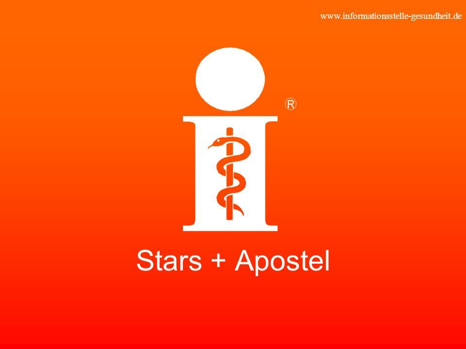 www.informationsstelle-gesundheit.de Stars + Apostel