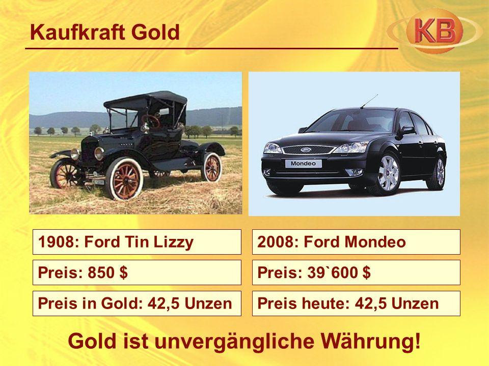 Gold ist unvergängliche Währung!