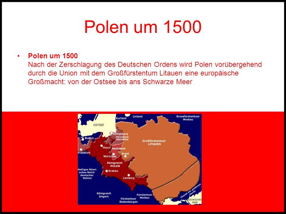 Polen um 1500