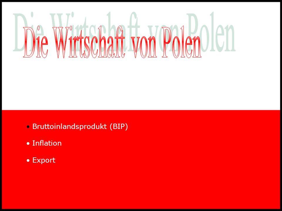 Die Wirtschaft von Polen