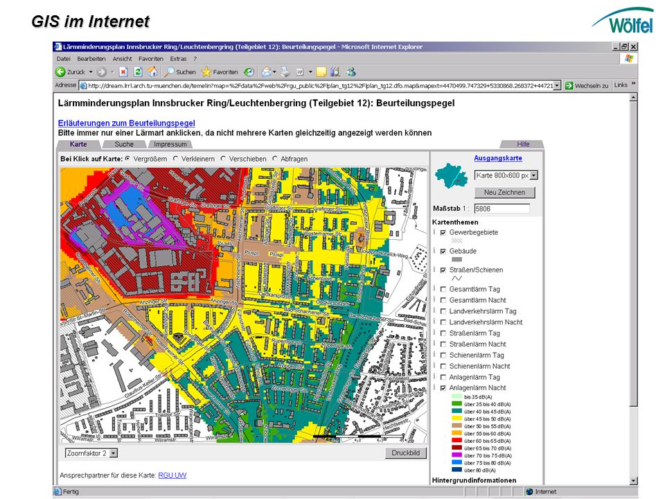 GIS im Internet
