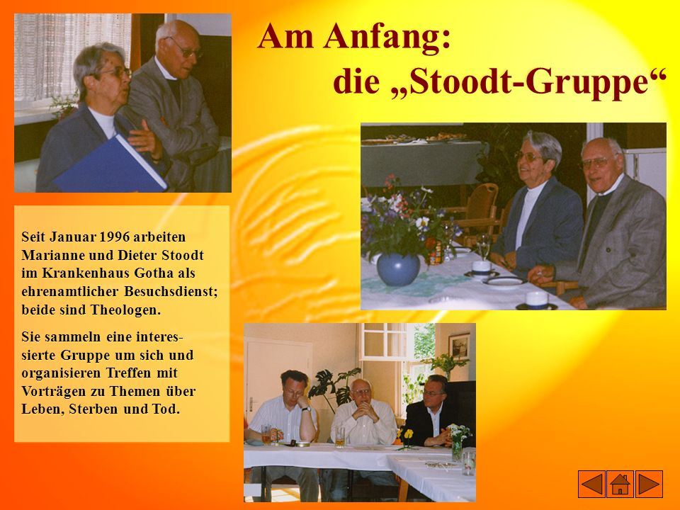 "Am Anfang: die ""Stoodt-Gruppe"