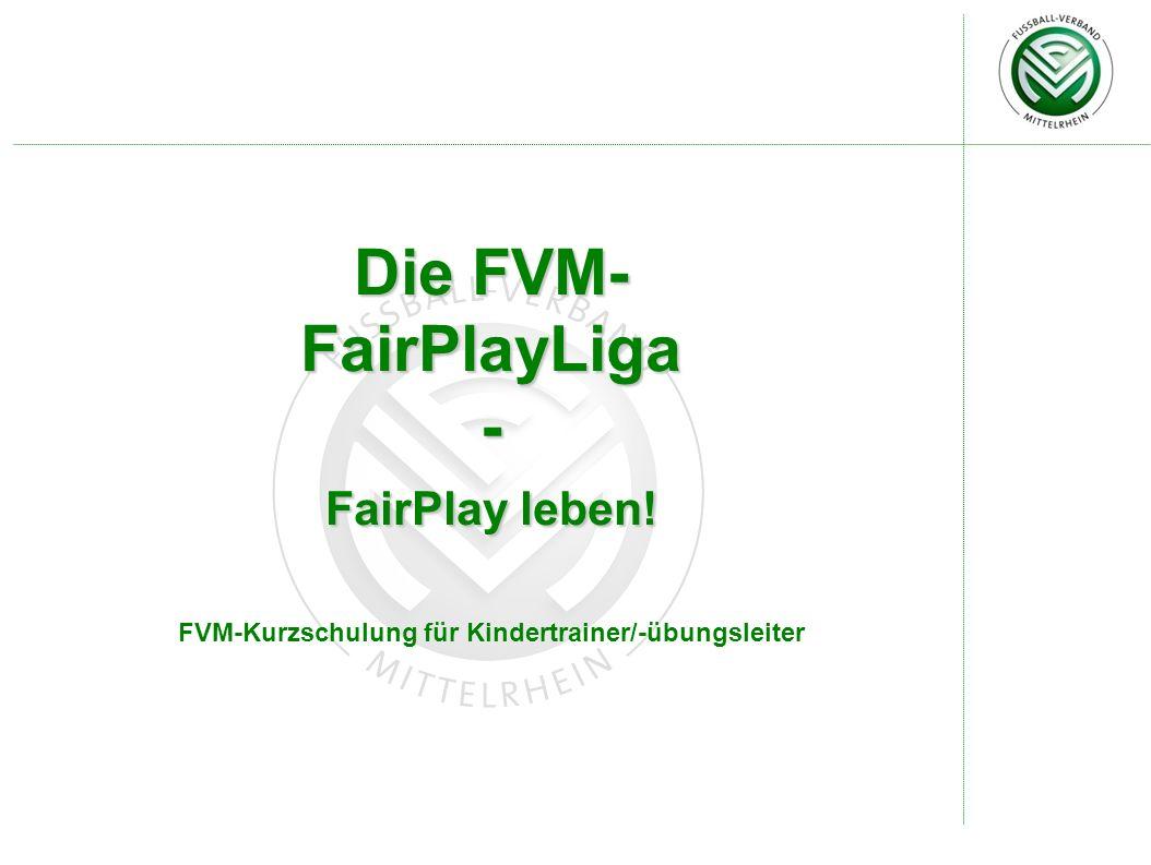 FVM-Kurzschulung für Kindertrainer/-übungsleiter
