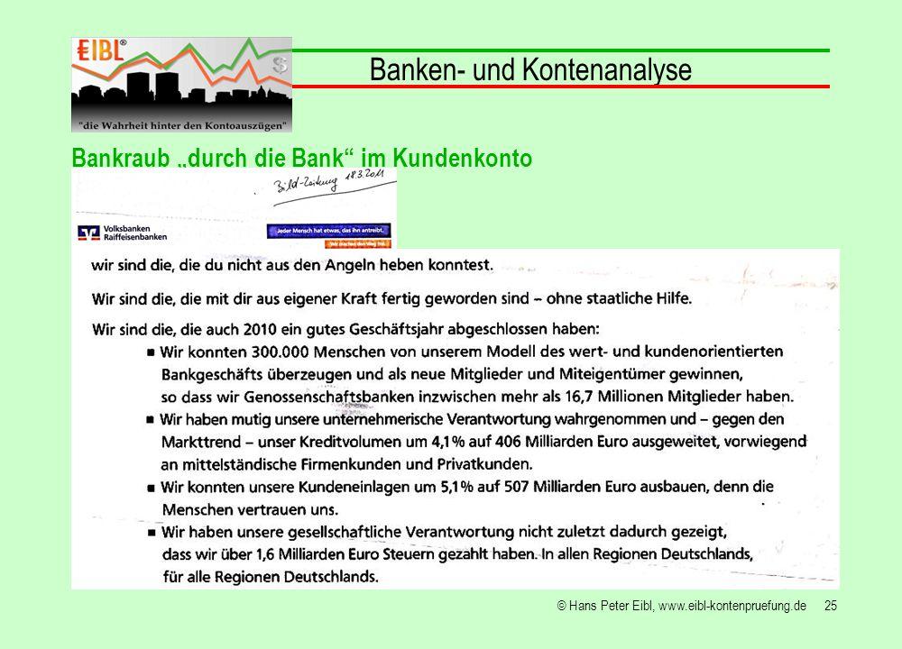 Banken- und Kontenanalyse