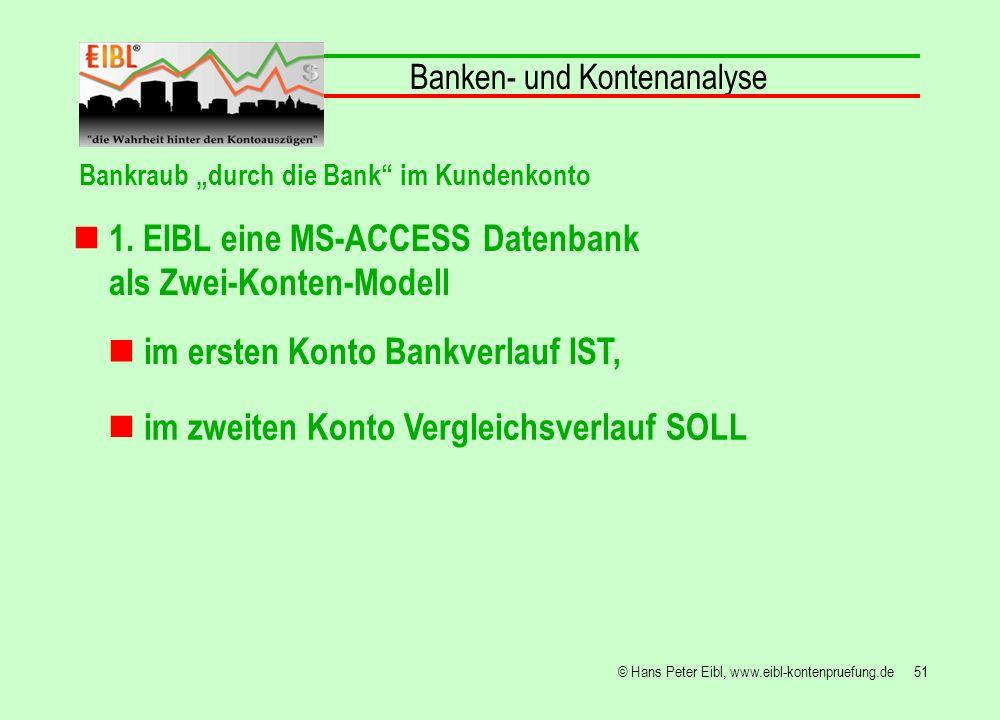 1. EIBL eine MS-ACCESS Datenbank als Zwei-Konten-Modell