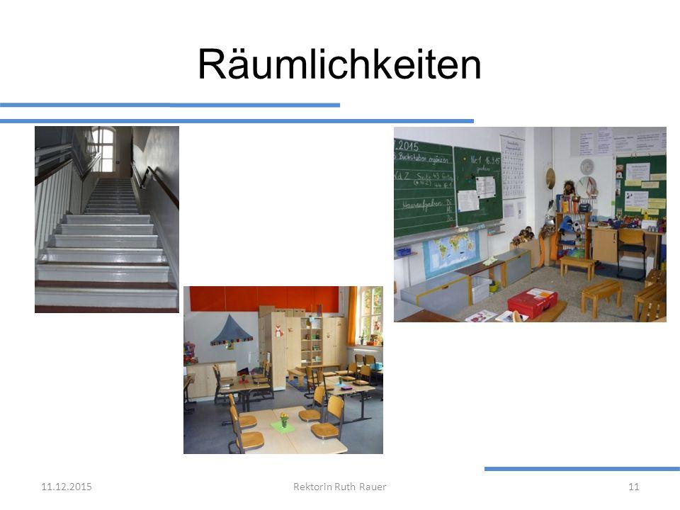 Räumlichkeiten 25.04.2017 Rektorin Ruth Rauer