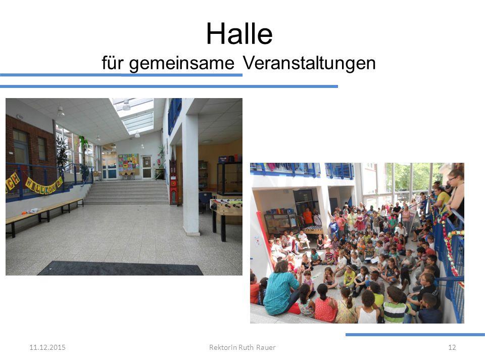 Halle für gemeinsame Veranstaltungen