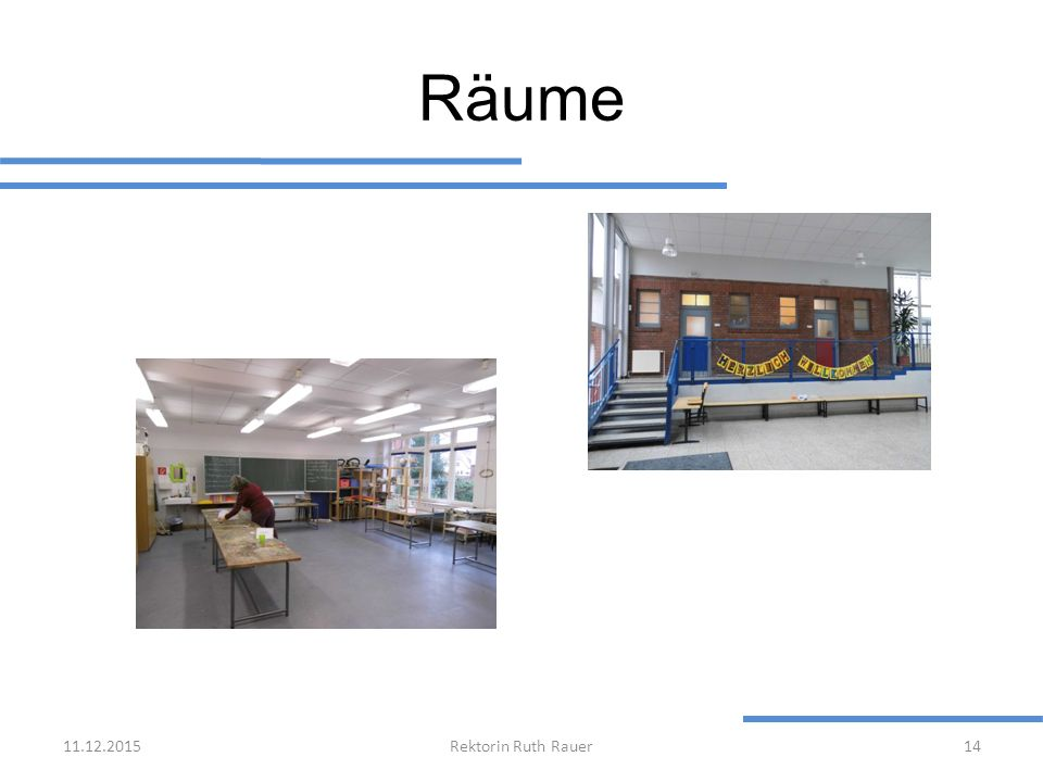 Räume 25.04.2017 Rektorin Ruth Rauer