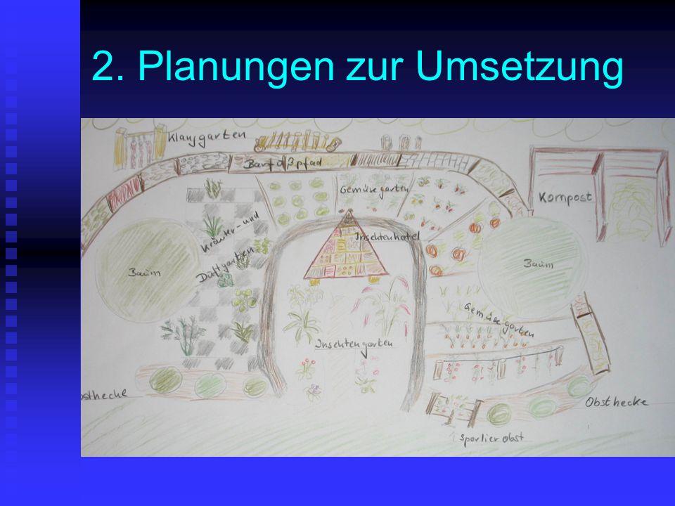 2. Planungen zur Umsetzung