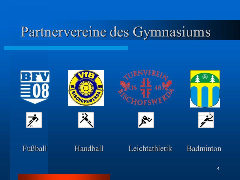 Partnervereine des Gymnasiums