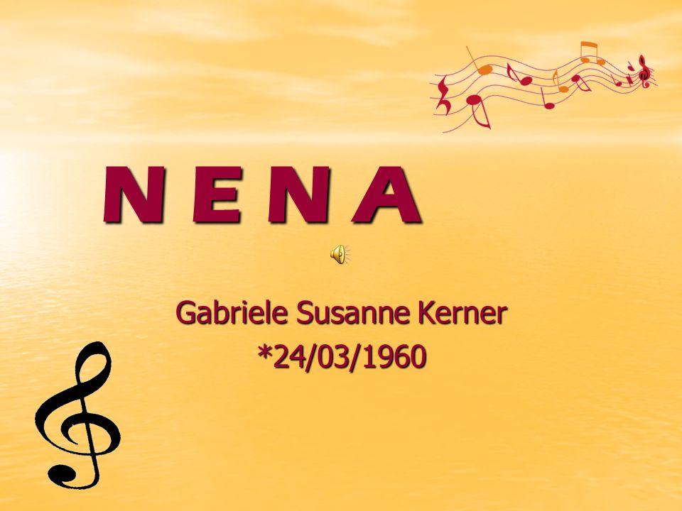 Gabriele Susanne Kerner *24/03/1960