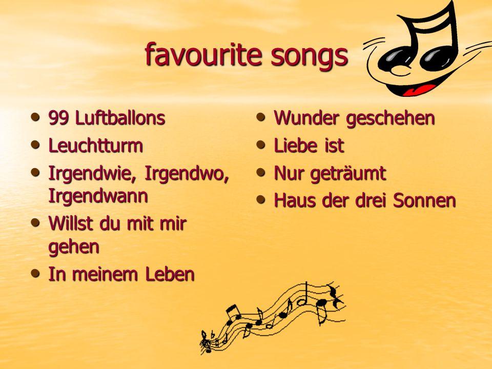 favourite songs 99 Luftballons Leuchtturm