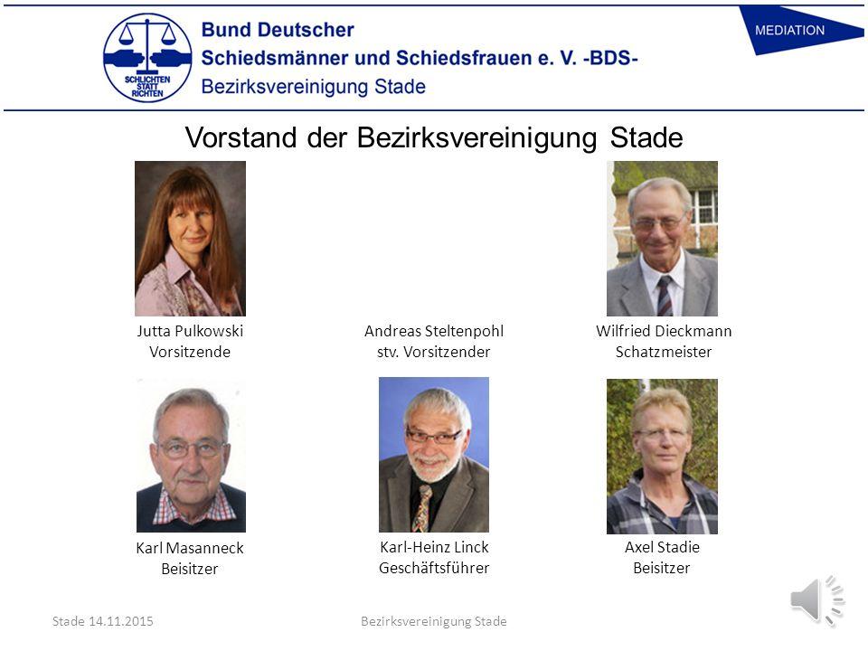 Vorstand der Bezirksvereinigung Stade