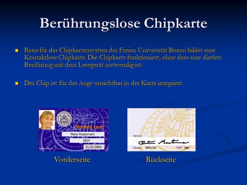 Berührungslose Chipkarte
