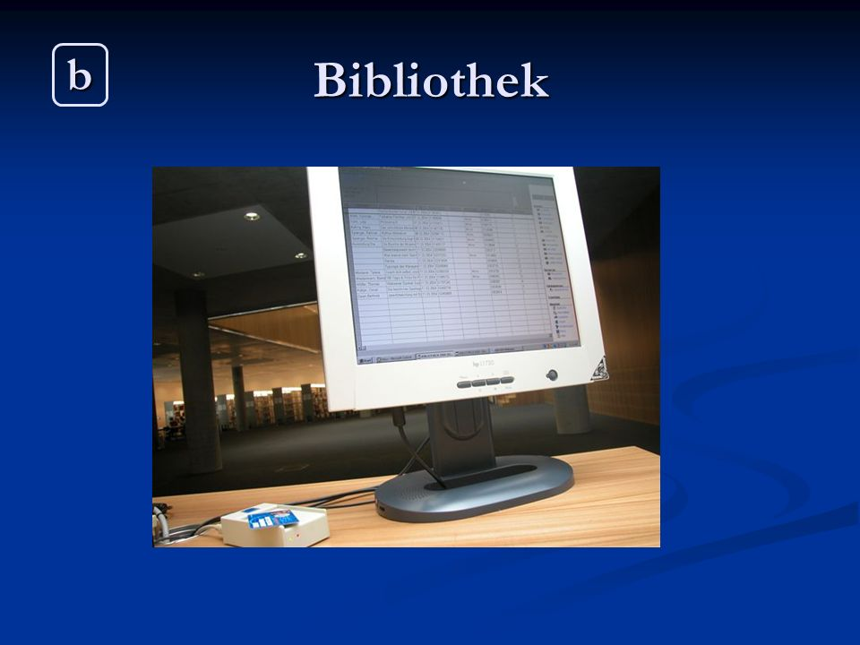 Bibliothek b