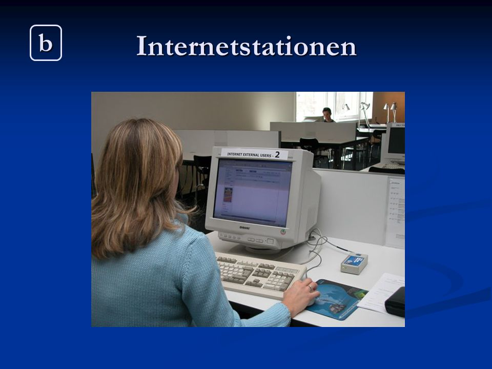 Internetstationen b