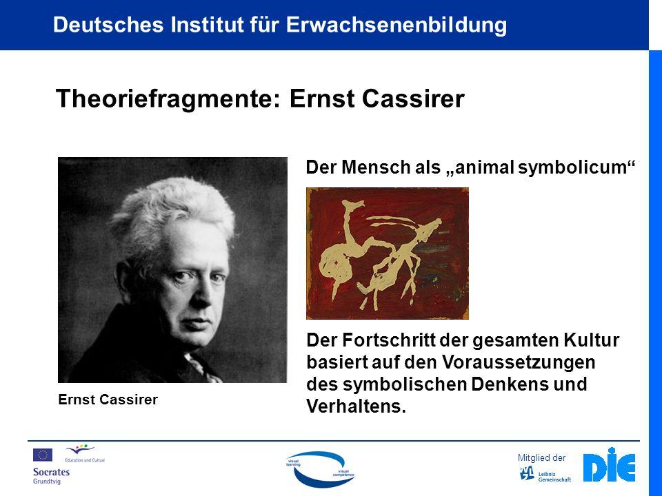Theoriefragmente: Ernst Cassirer