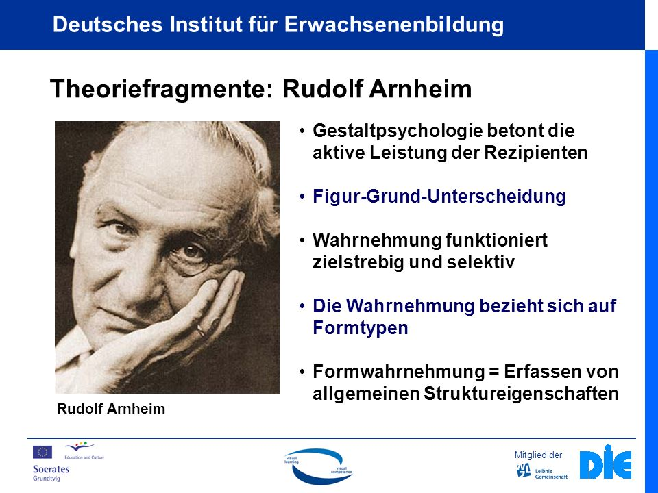 Theoriefragmente: Rudolf Arnheim
