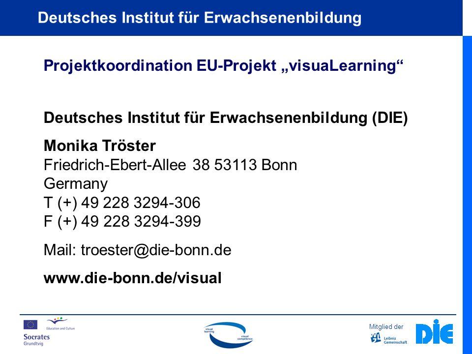 "Projektkoordination EU-Projekt ""visuaLearning"