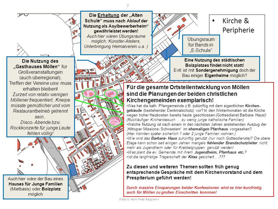 """Die Erhaltung der """"Alten Schule muss nach Ablauf der Nutzung als Asylbewerberheim gewährleistet werden!"""