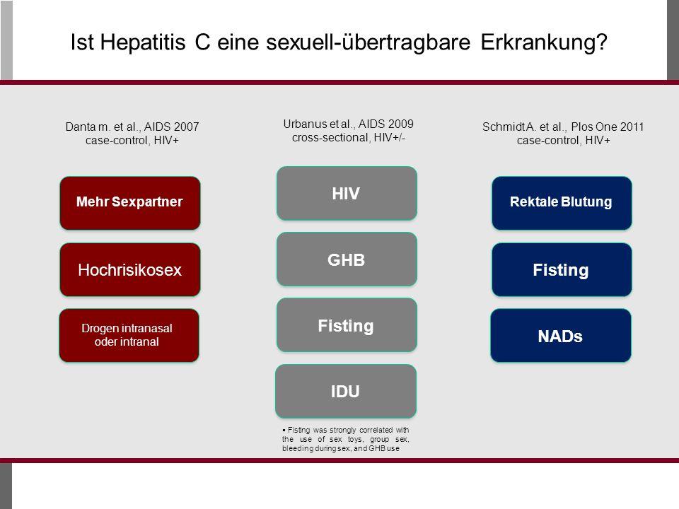 Ist Hepatitis C eine sexuell-übertragbare Erkrankung