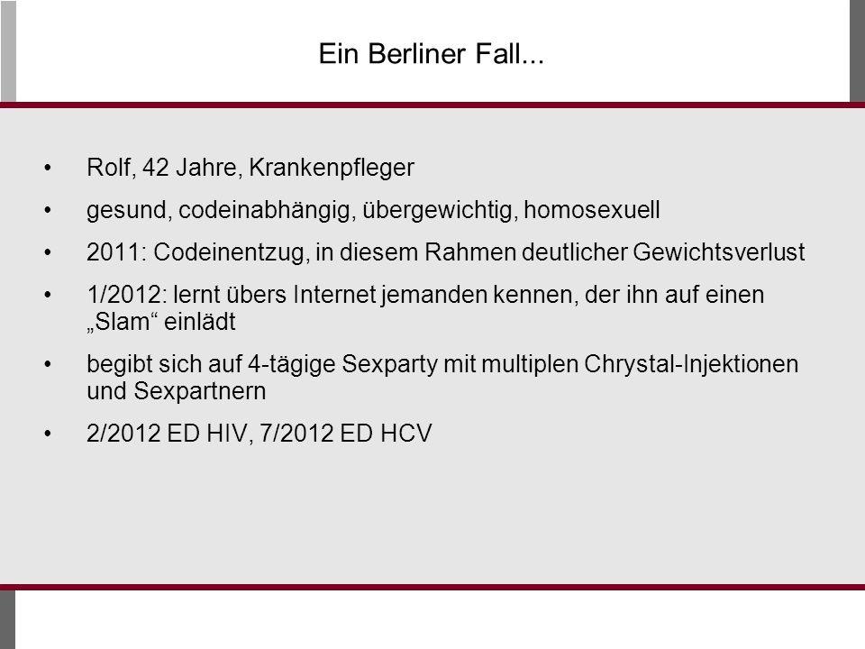 Ein Berliner Fall... Rolf, 42 Jahre, Krankenpfleger