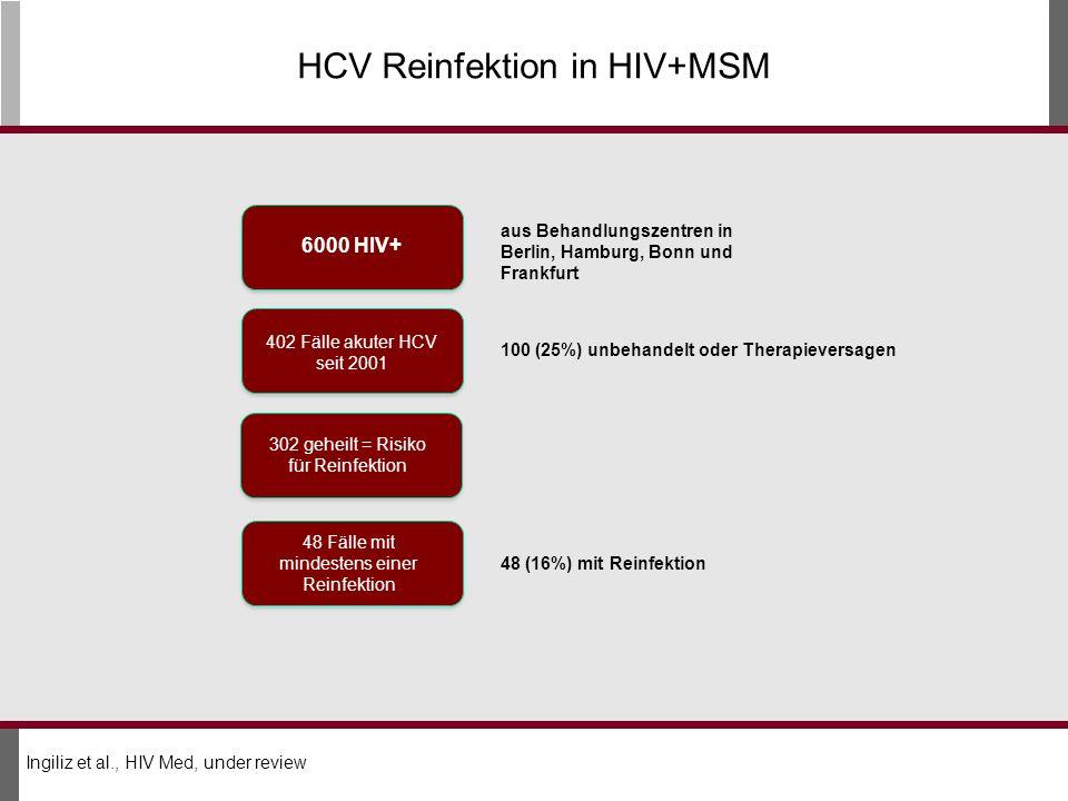HCV Reinfektion in HIV+MSM
