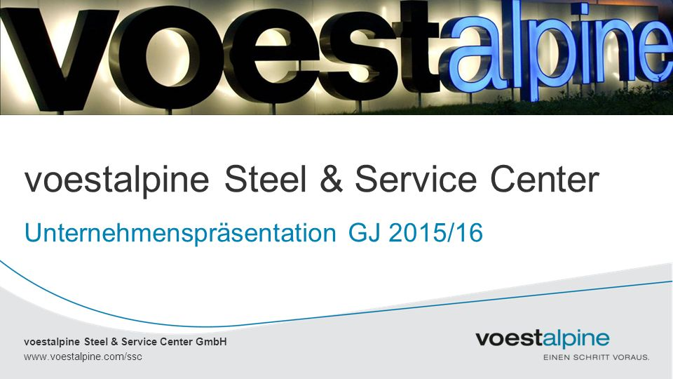 voestalpine Steel & Service Center