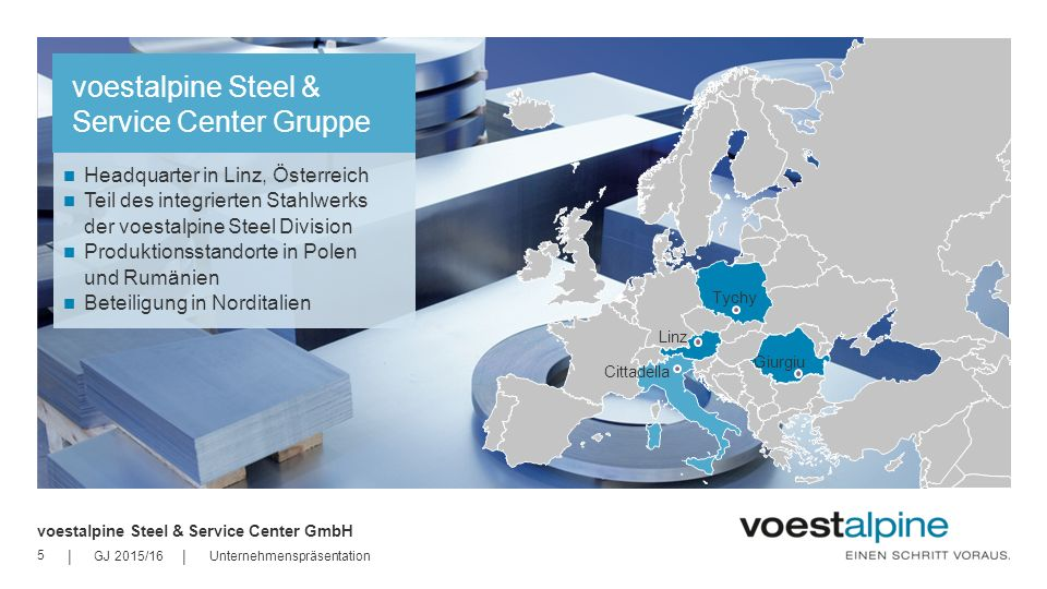 voestalpine Steel & Service Center Gruppe