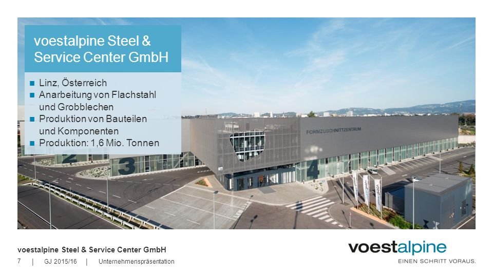 voestalpine Steel & Service Center GmbH