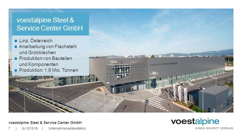 voestalpine Steel & Service Center GmbH