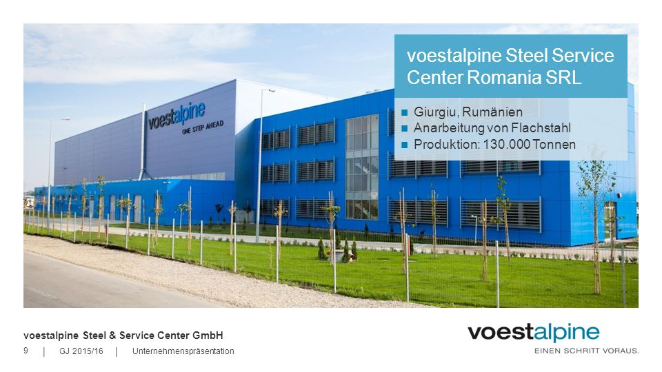 voestalpine Steel Service Center Romania SRL