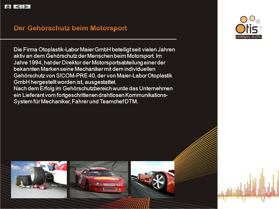 Der Gehörschutz beim Motorsport