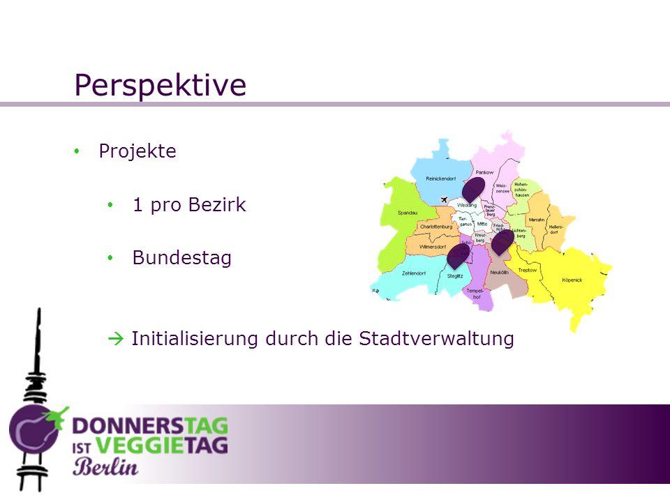 Perspektive Projekte 1 pro Bezirk Bundestag