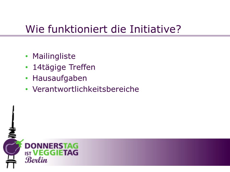 Wie funktioniert die Initiative