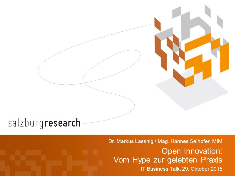 Open Innovation: Vom Hype zur gelebten Praxis