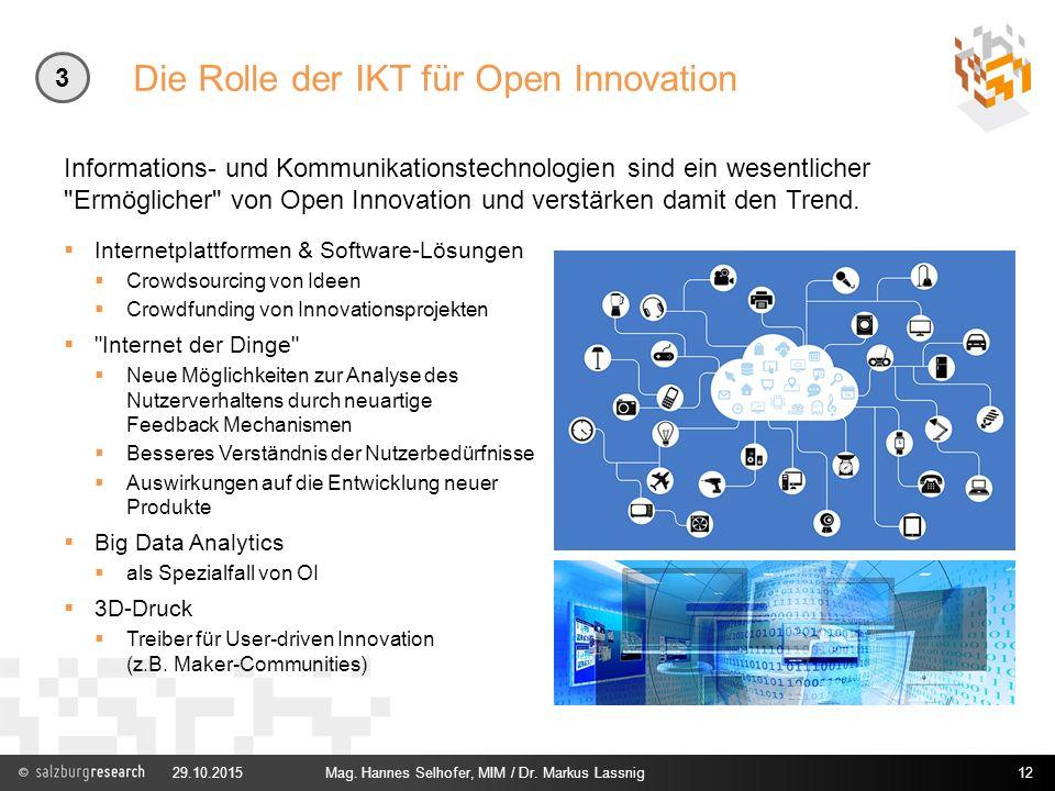 Die Rolle der IKT für Open Innovation