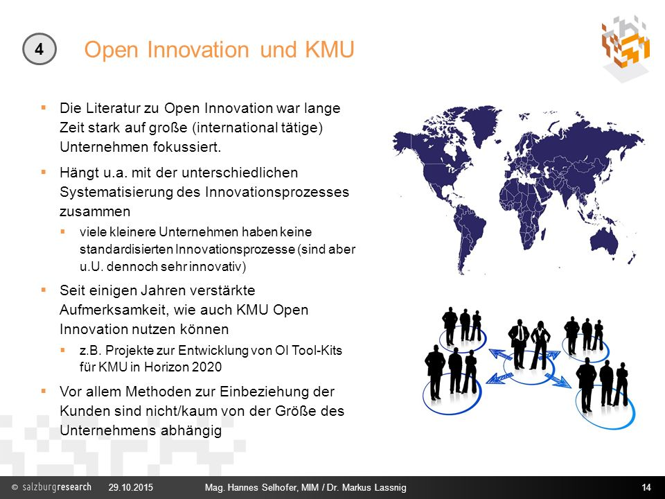 Open Innovation und KMU
