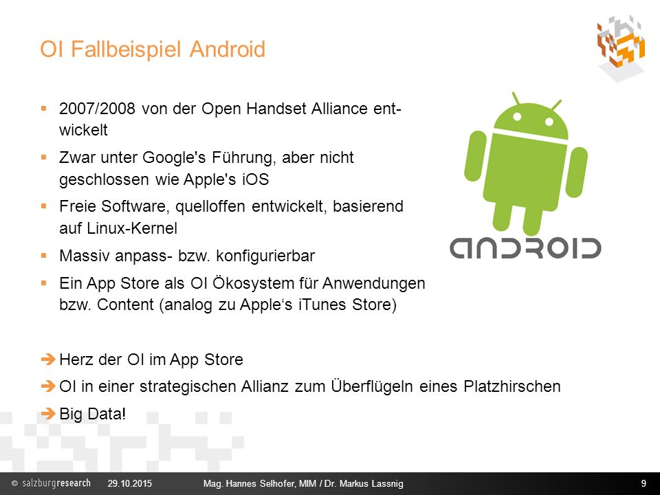 OI Fallbeispiel Android