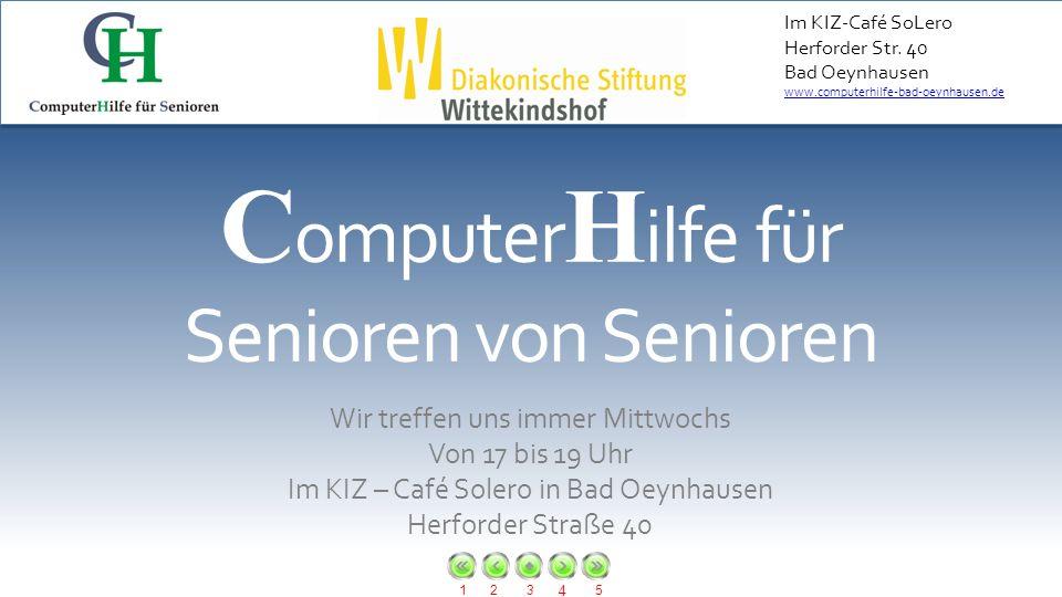 ComputerHilfe für Senioren von Senioren