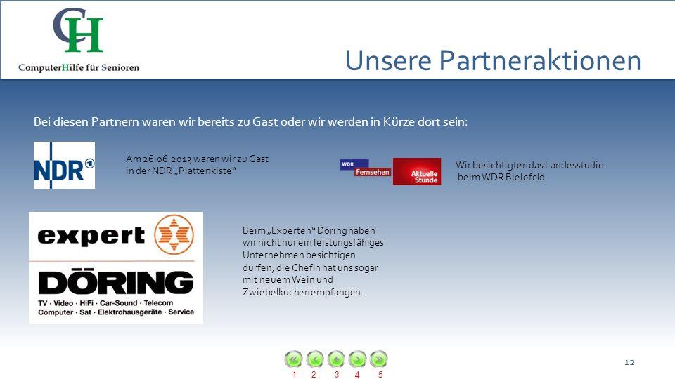Unsere Partneraktionen