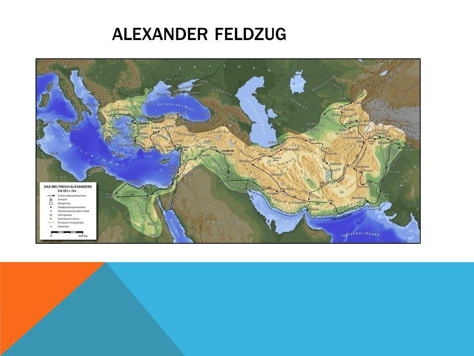 Alexander feldzug