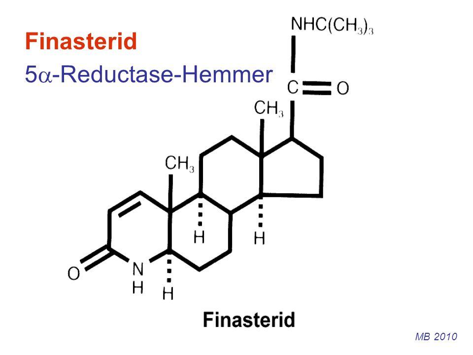 Finasterid 5-Reductase-Hemmer MB 2010