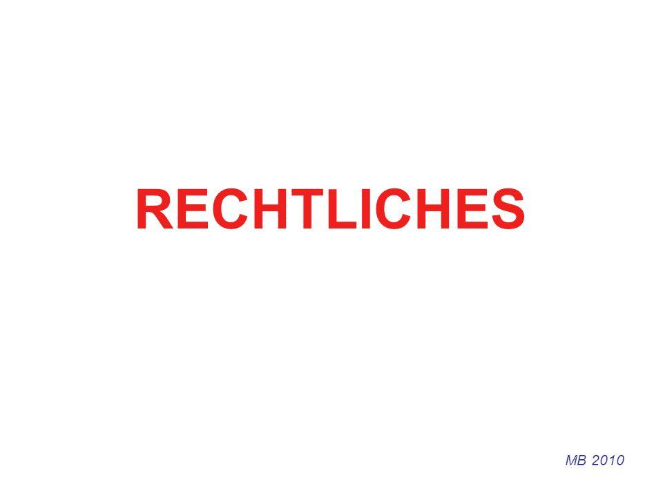 RECHTLICHES MB 2010
