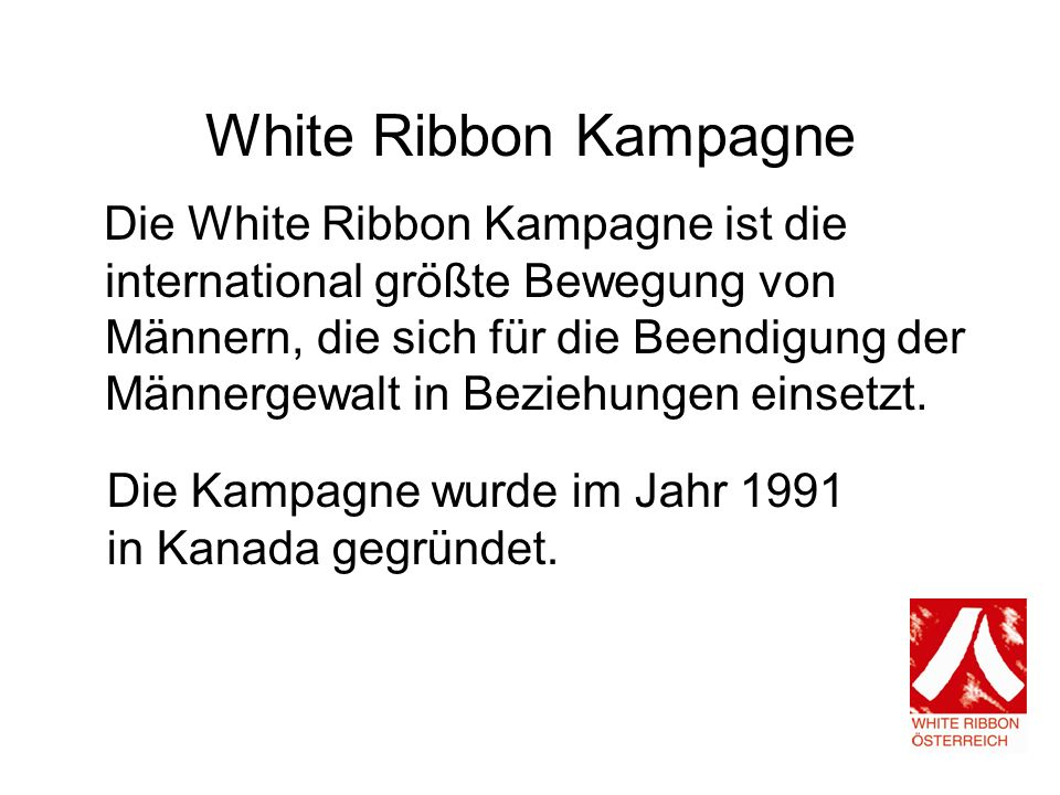 White Ribbon Kampagne